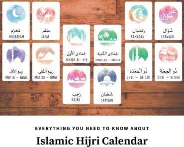 islamic hijri calendar