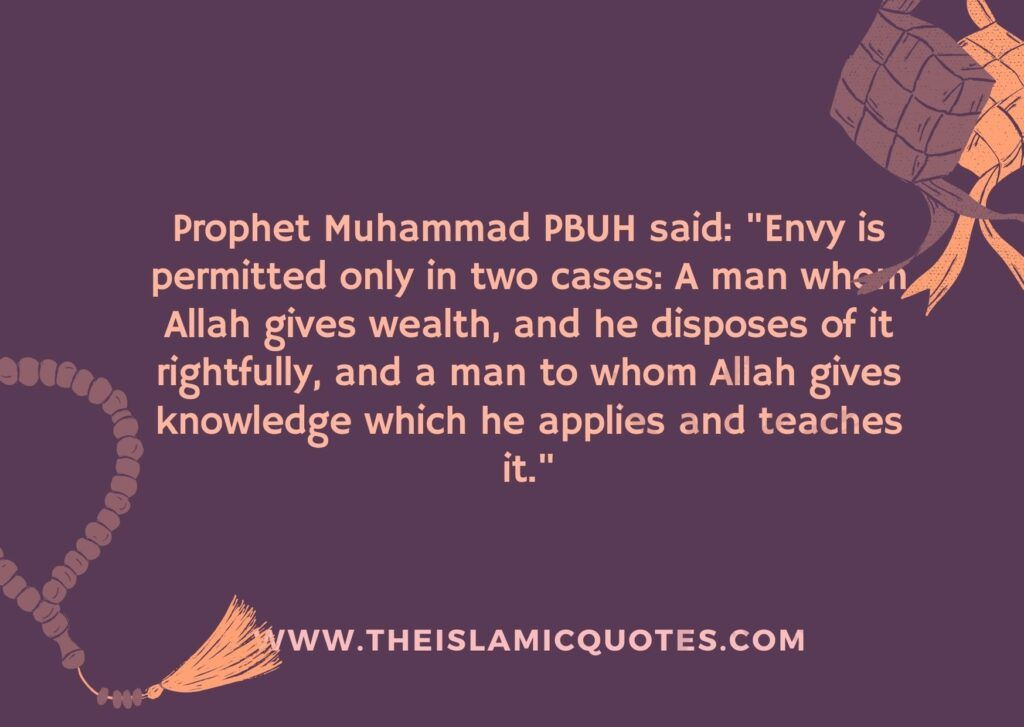 Hadith when envy is allowed