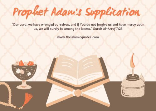 Prophet Adam's Due