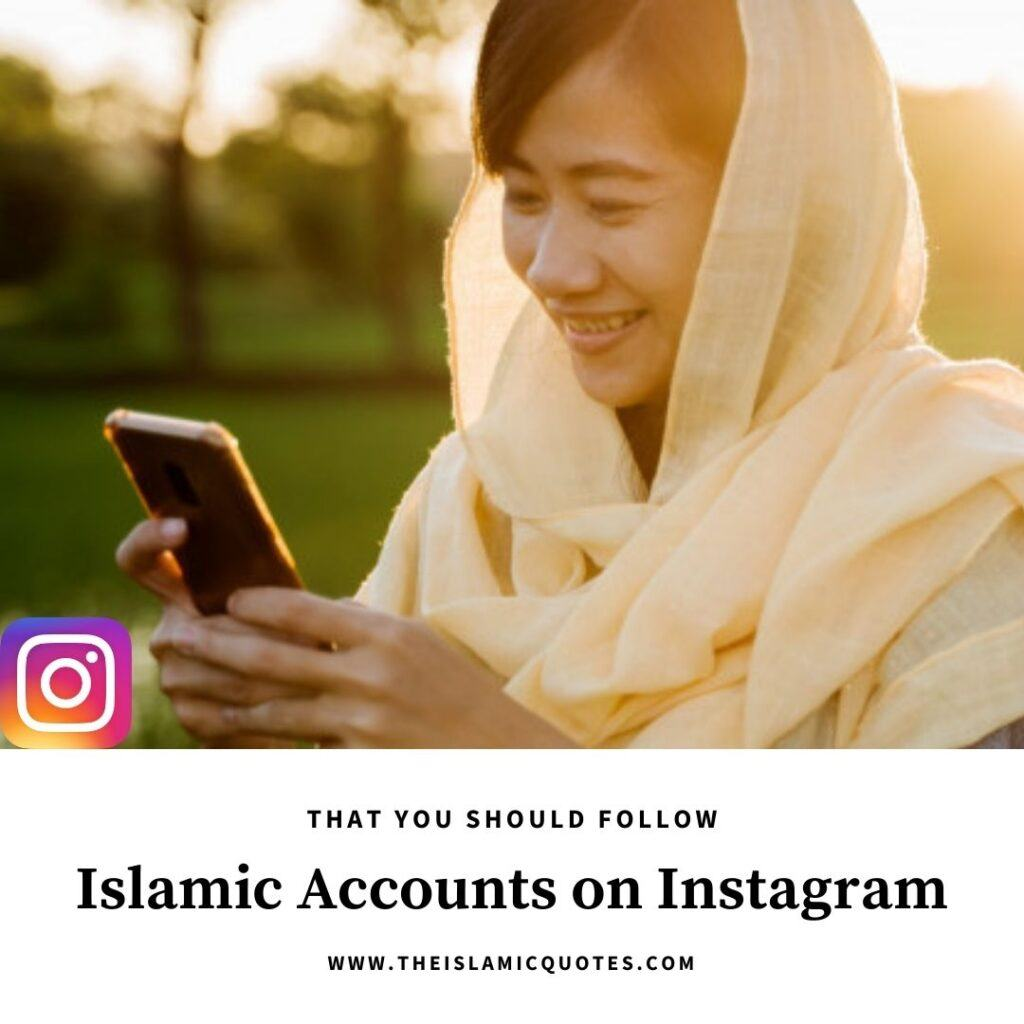 islamic accounts on instagram