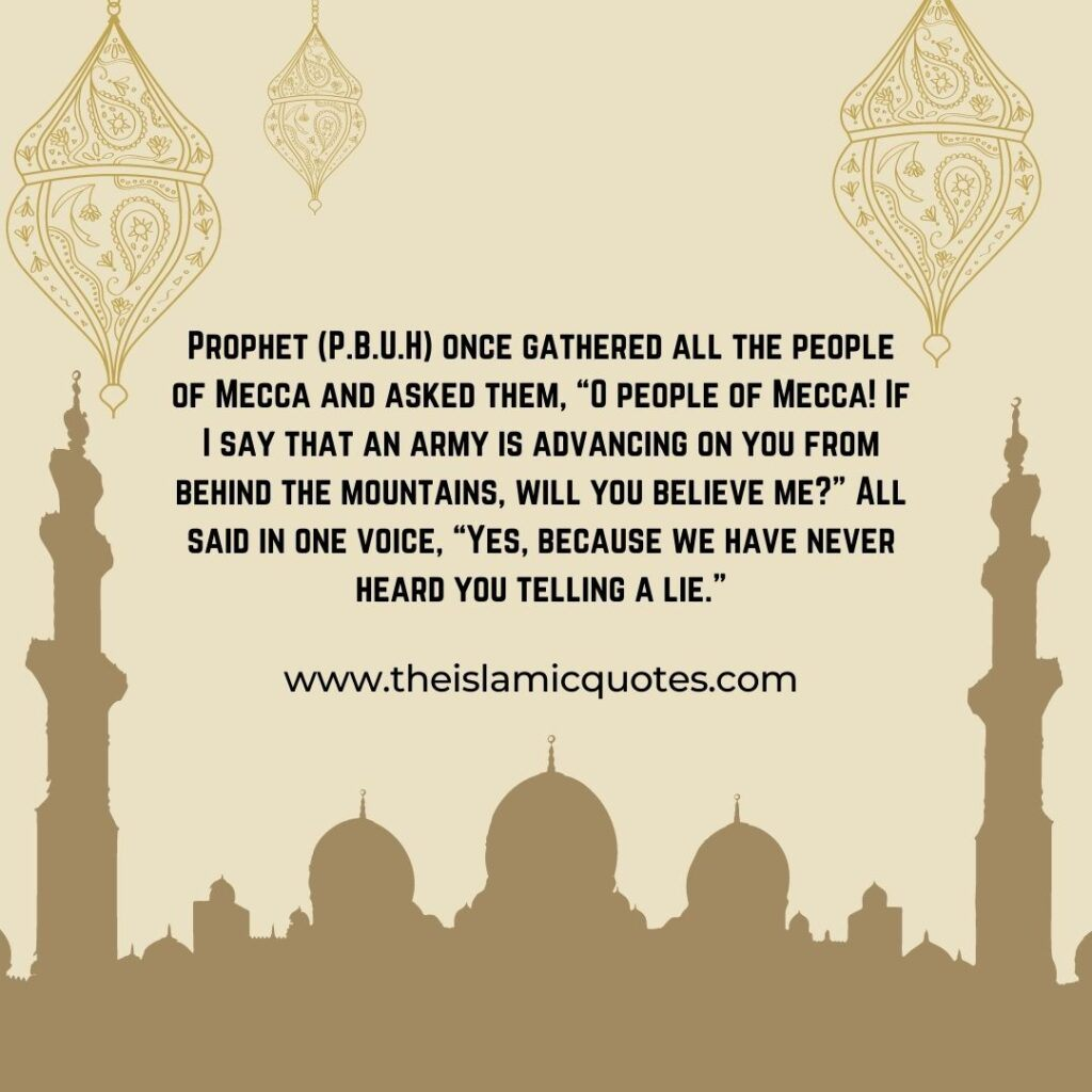 lessons from the life of Prophet (pbuh)