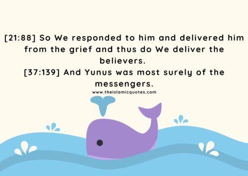 Quranic Verse about Prophet Yunus