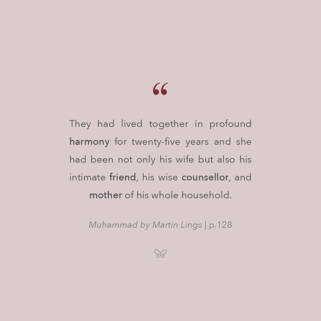 lessons learnt from the life of hazrat khadija