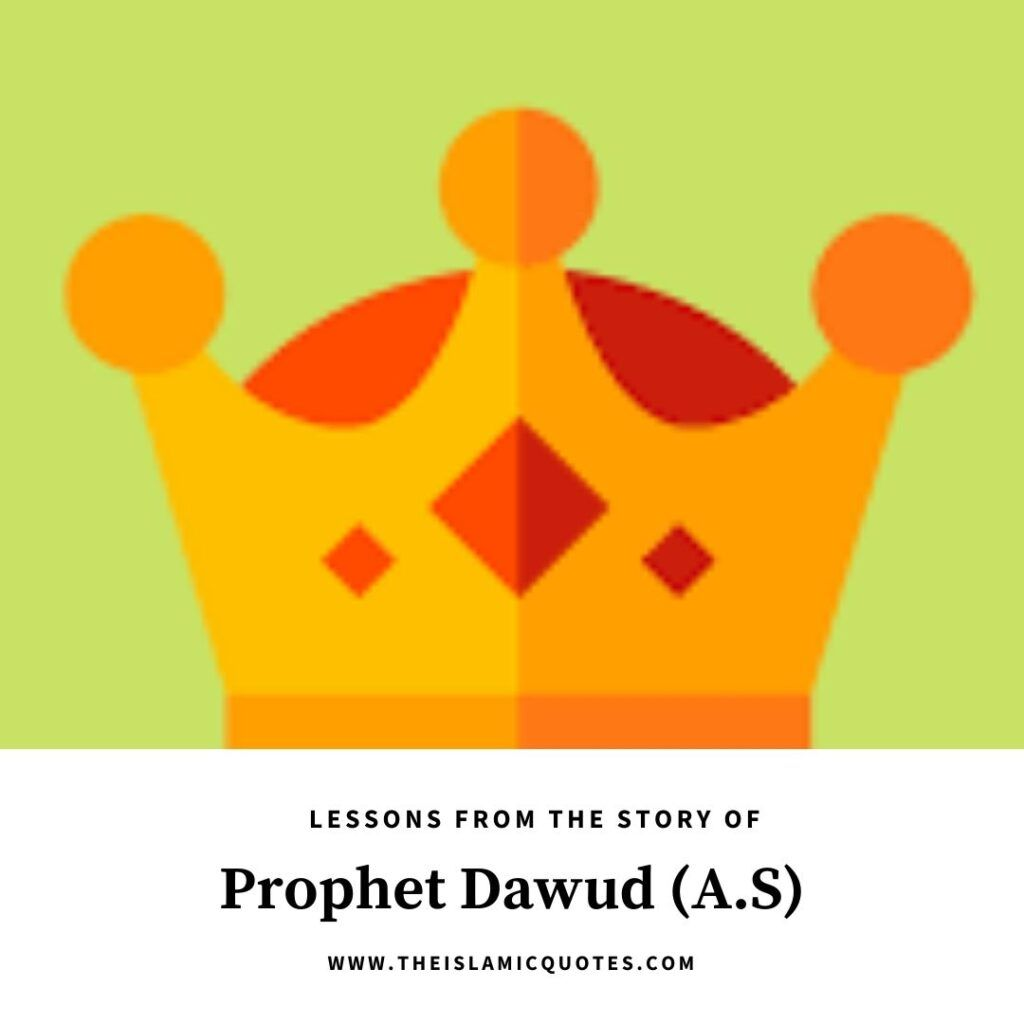 lessons from story of prophet dawud