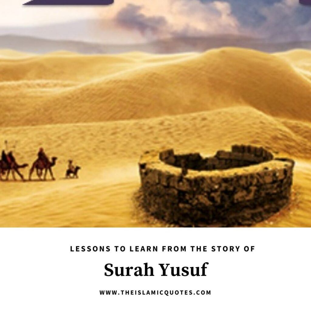 lessons from story of prophet yusuf