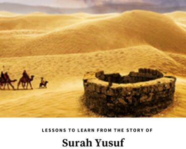 lessons from the story of prophet yusuf