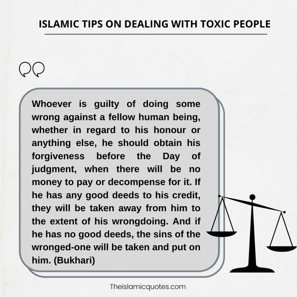 9 Islamic Tips on How to Deal with Difficult Toxic People nbsp